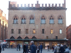 One of the Palazzi at Piazza Maggiore